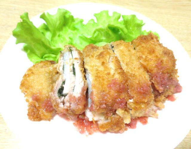 豚肉と長芋のミルフィーユカツ