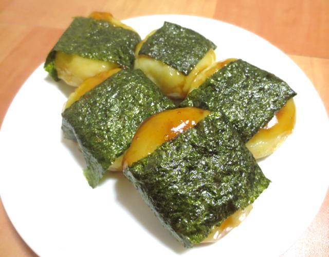 海苔巻き芋もち