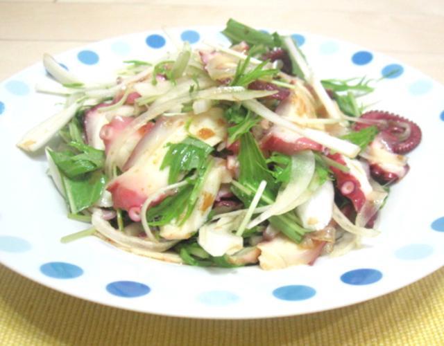 たこポン酢サラダ