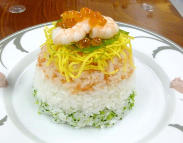 3色ちらし寿司