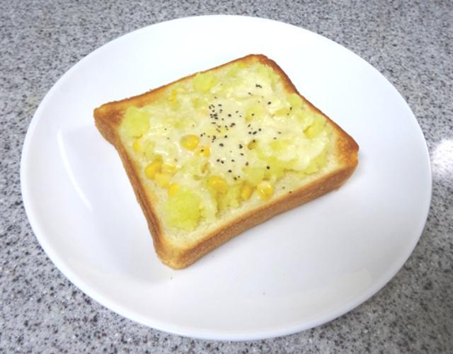 じゃがバタートースト