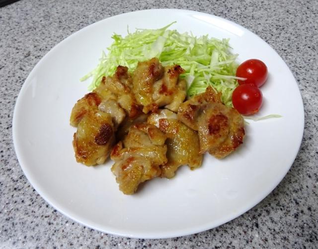 鶏肉のガーリック焼
