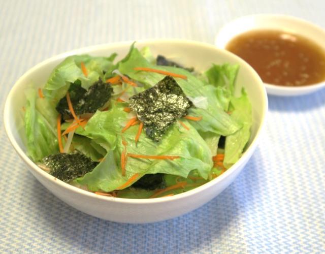 レタスのチョレギ風サラダ