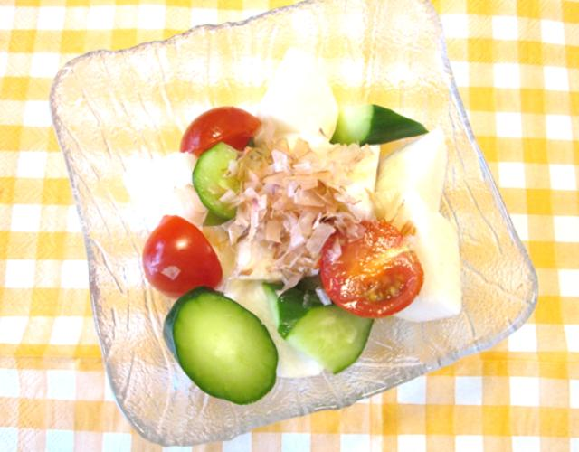 長芋ときゅうりのサラダ