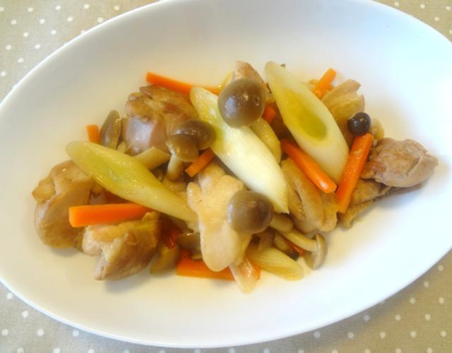 鶏モモ肉のさっぱりお酢炒め
