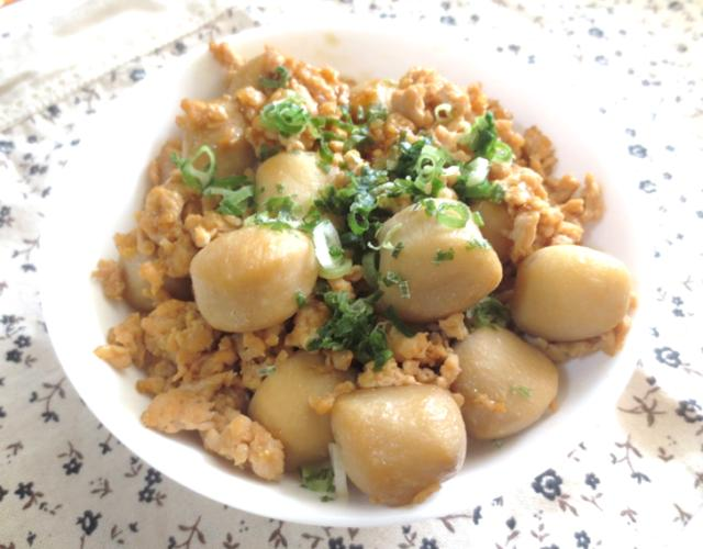里芋の簡単煮物
