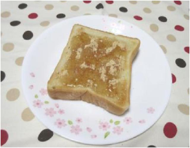 はちみつきな粉トースト