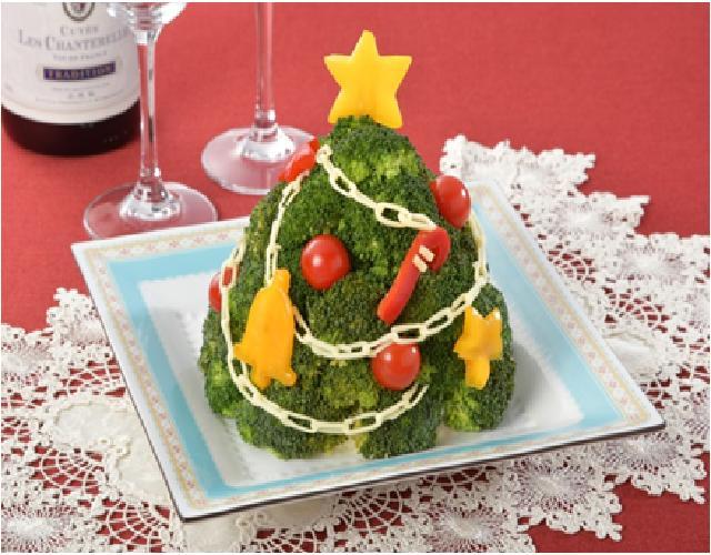 クリスマス★リースサラダ