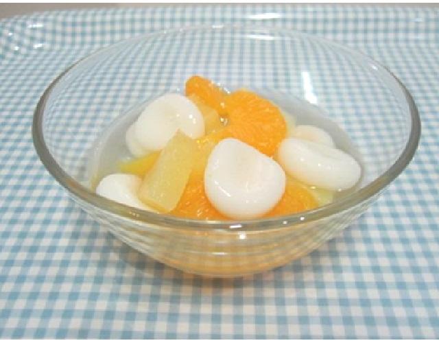 フルーツ白玉