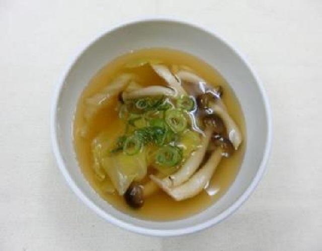 オイスターソースで中華スープ