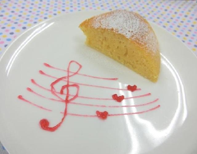 炊飯器でヨーグルトケーキ