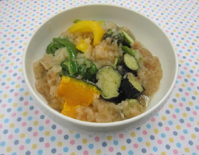彩り野菜の揚げ浸し