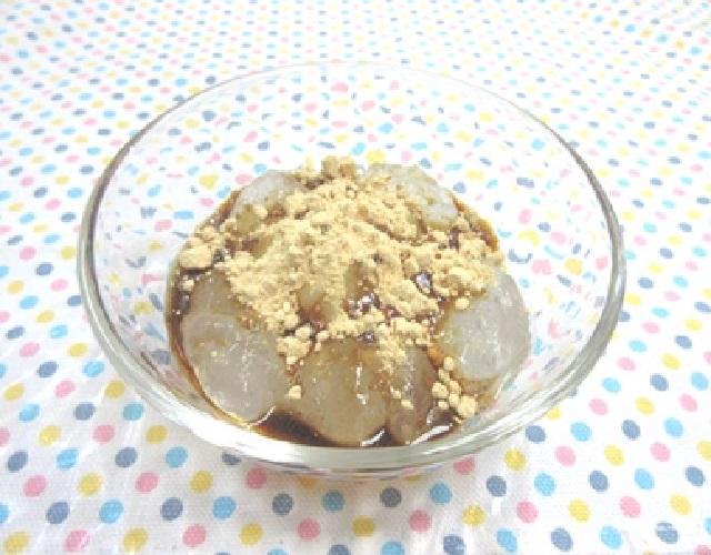 片栗粉でわらび餅