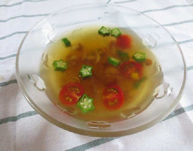 七夕冷製スープ