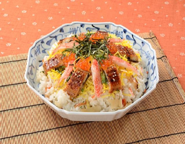 うなぎのちらし寿司
