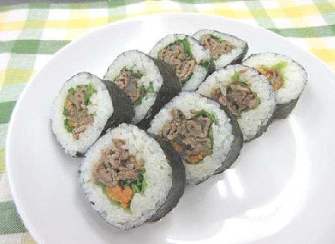 焼肉巻寿司