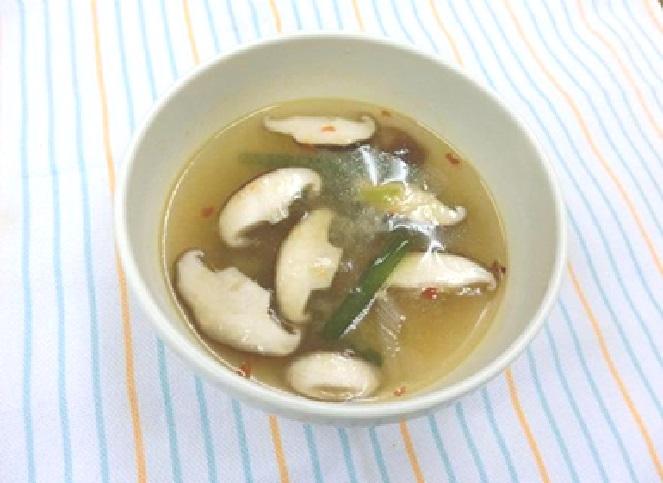 ピリ辛味噌スープ