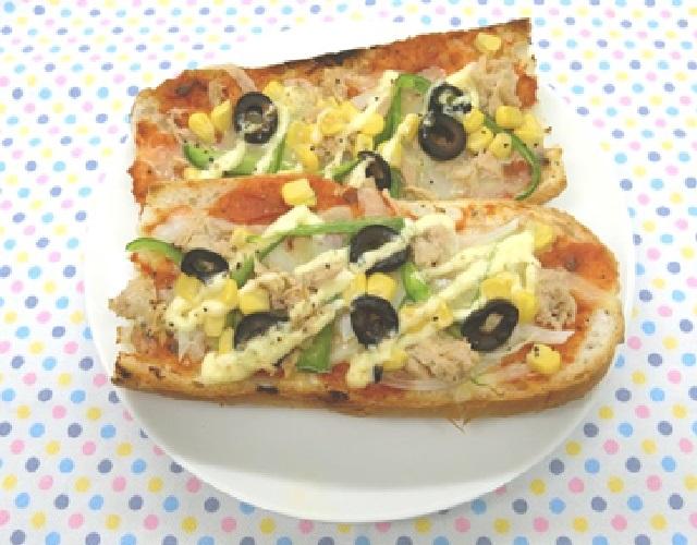 バゲットピザ