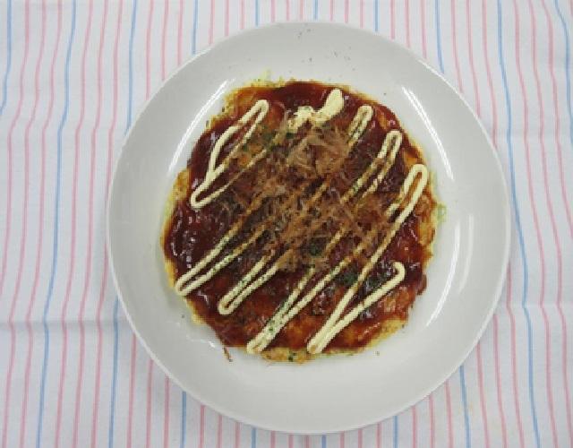 ふんわり豆腐のお好み焼き