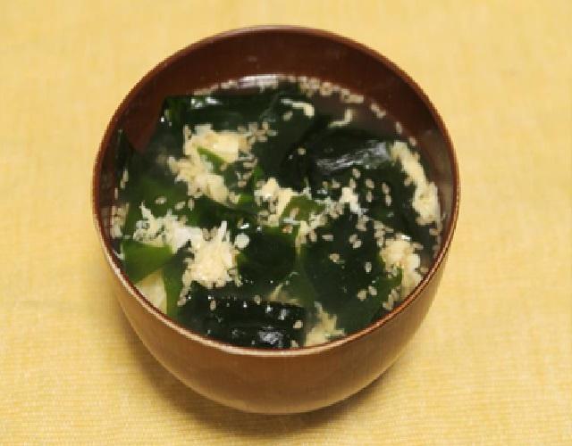 わかめ生姜スープ
