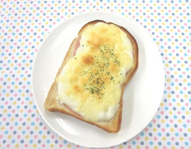 クロックムッシュ風トースト