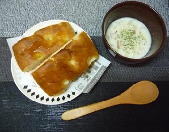 超熟フォカッチャ~スープを添えて~