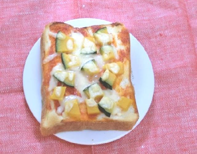 パンプキンチーズトースト