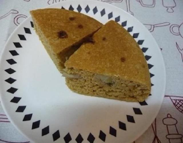 黒糖バナナケーキ