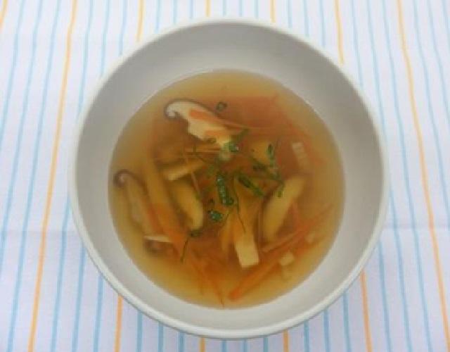 たけのこの中華スープ