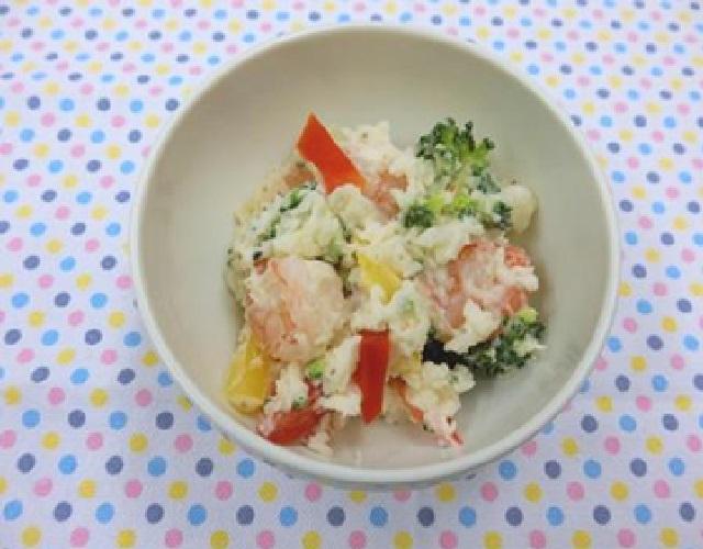 彩りポテトサラダ