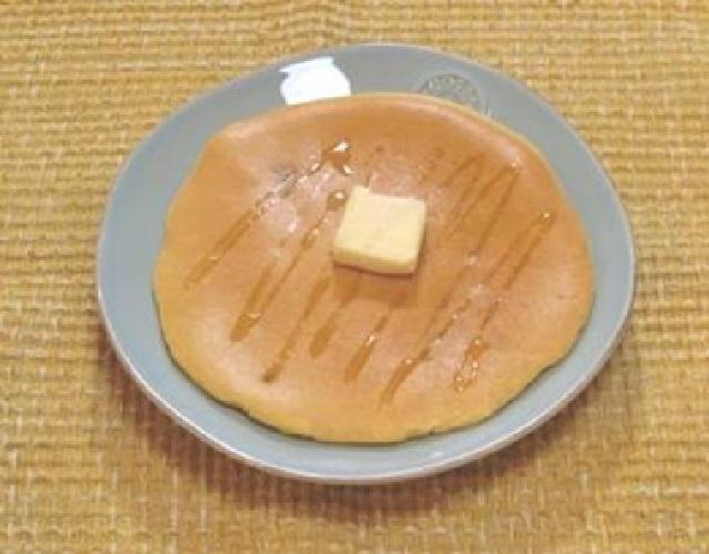 かぼちゃ風味のパンケーキ