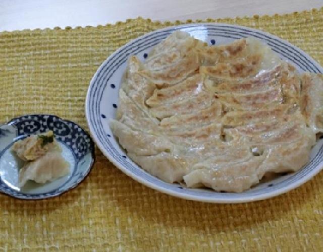 鶏ミンチと大葉の餃子