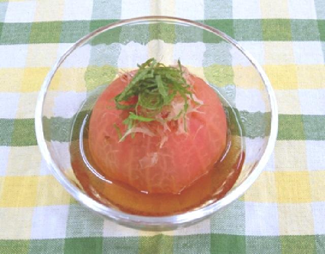 湯むきトマトのおひたし