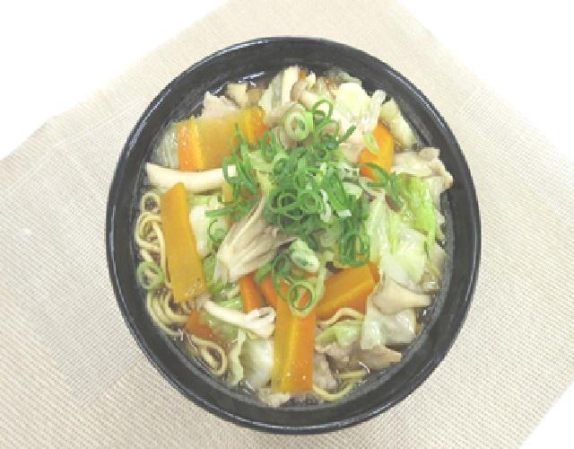 きのこ入り野菜タンメン