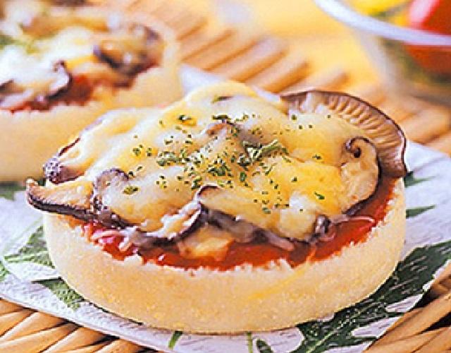きのこのチーズトースト