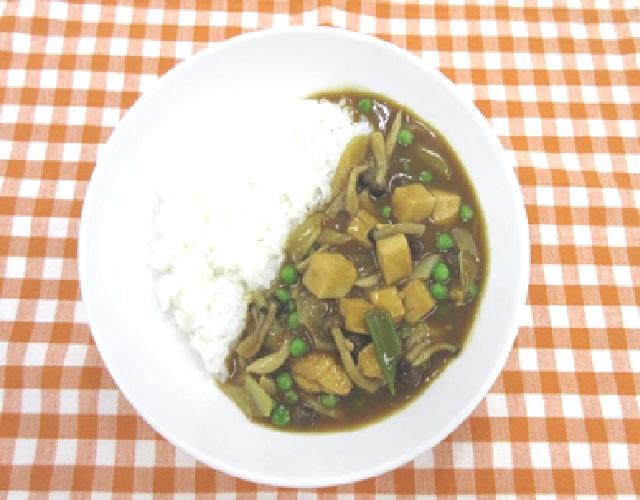 豆腐ときのこのカレー