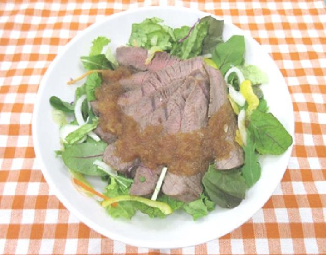 牛肉のタリアータサラダ~和風ソースで~