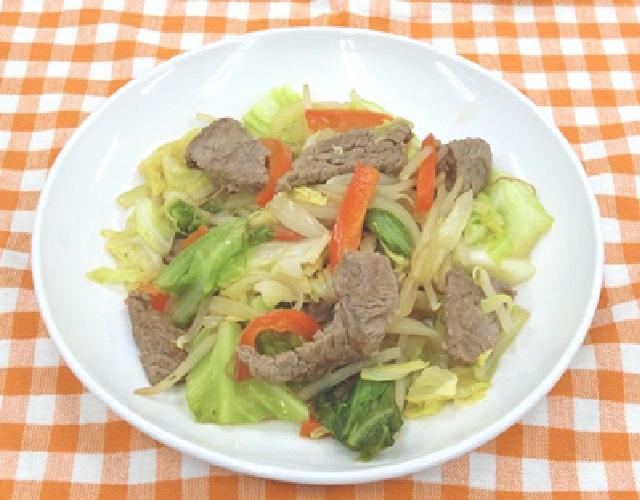 焼肉野菜炒め