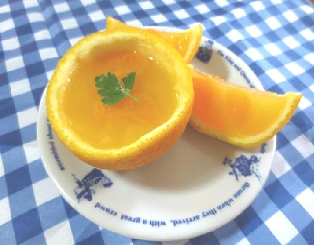 丸ごとオレンジゼリー